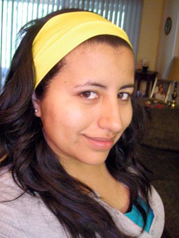 Elsa Fernanda, vegetariana de corazon