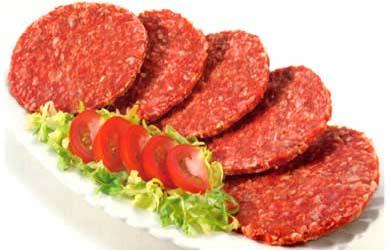 carne de hamburguesa casera