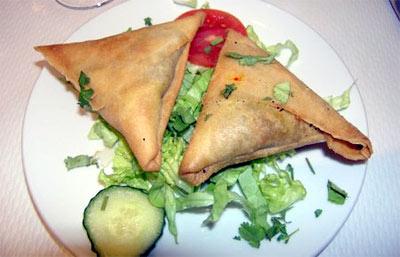 ricas empanadas hindus samosas a la masala