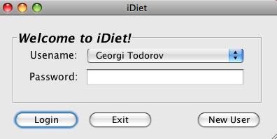 idiet software para dietas y llevar un control de comidas