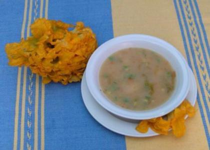 receta de flor de calabaza