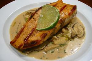 salmon hecho en casa