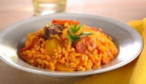 arroz estilo paella