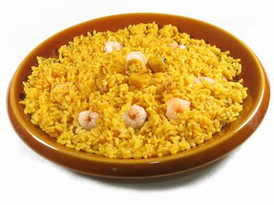 arroz y camarones
