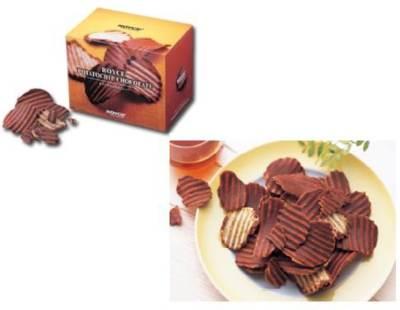 patatas de chocolate
