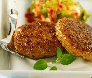carne casera de hamburguesa de soja