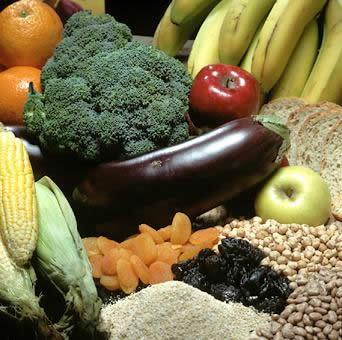 Alimentos con fibra
