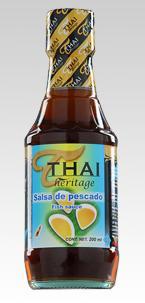 Salsa de pescado Thai
