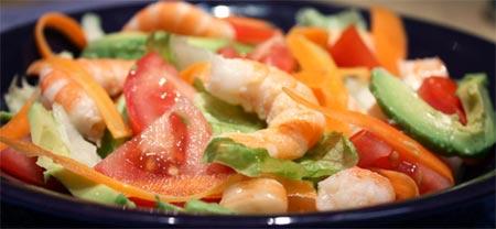 Receta de ensaladas con aguacate