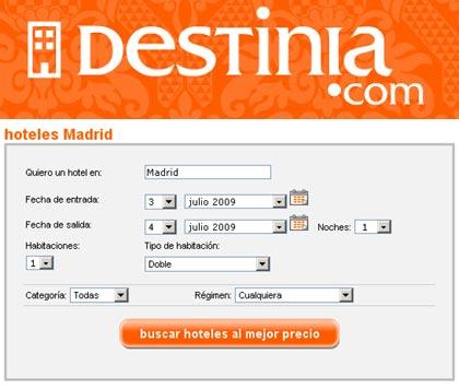 Hoteles economicos en Madrid