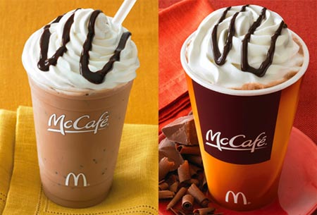 Promocion de McCafé de McDonald's
