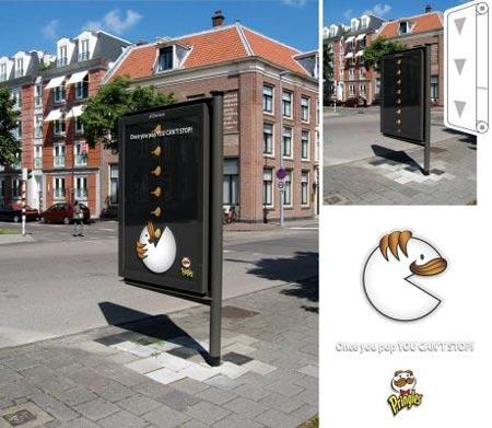 Campaña publicitaria de las papas Pringles