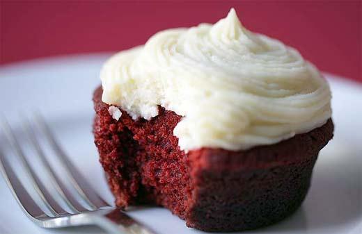 Cupcake rojo terciopelo o red velvet, formas faciles de prepararlos
