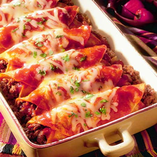 Enchiladas Mexicanas sabrosas y fáciles de hacer