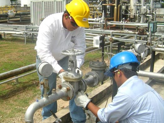 Gas Natural por tubería