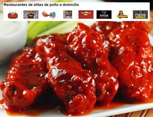 hellofood tiene las mejores alitas de pollo en 10 restaurantes que ofrecen sus servicios en linea